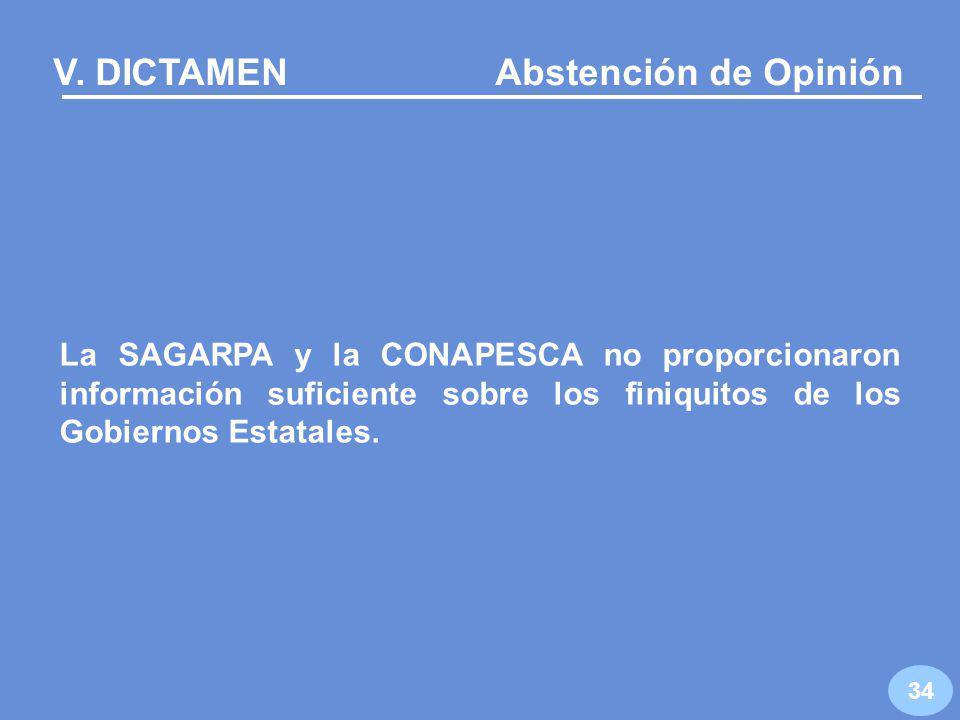 R 22 La CONAPESCA no dispone de un documento en el que se manifieste la temporalidad del programa 33 …resultados RO: Los subsidios deben ser temporales Temporalidad en la entrega de los apoyos