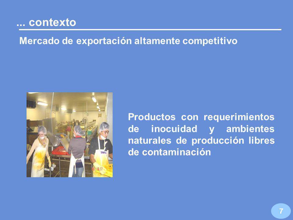 6 La Alianza para el Campo surgió en 1996 para impulsar la producción y fomentar la capitalización de las unidades de producción rural...