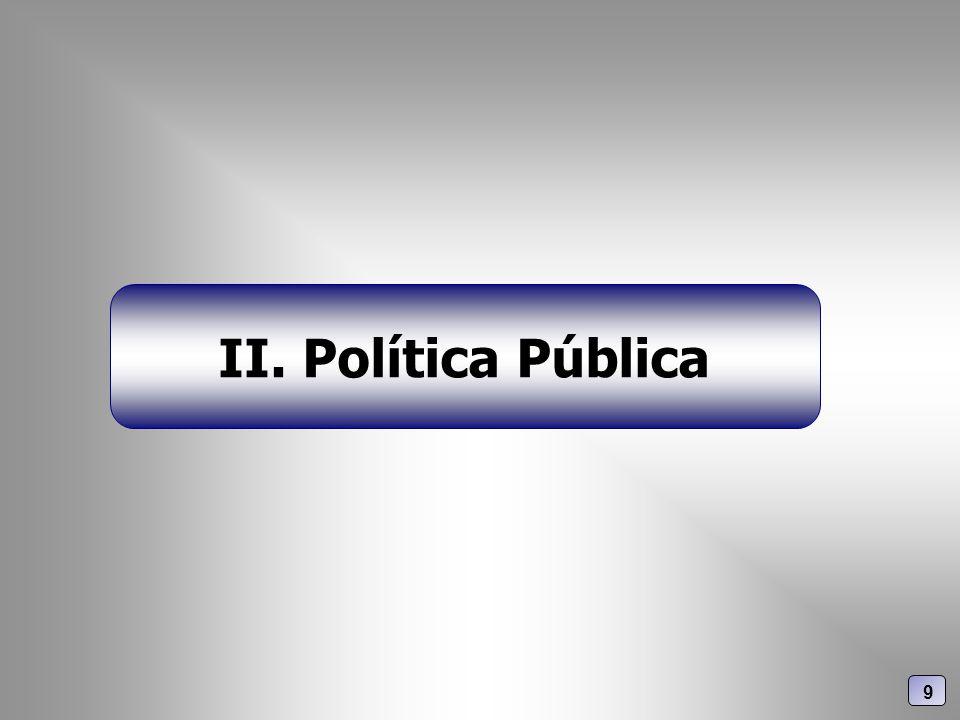II. Política Pública 9