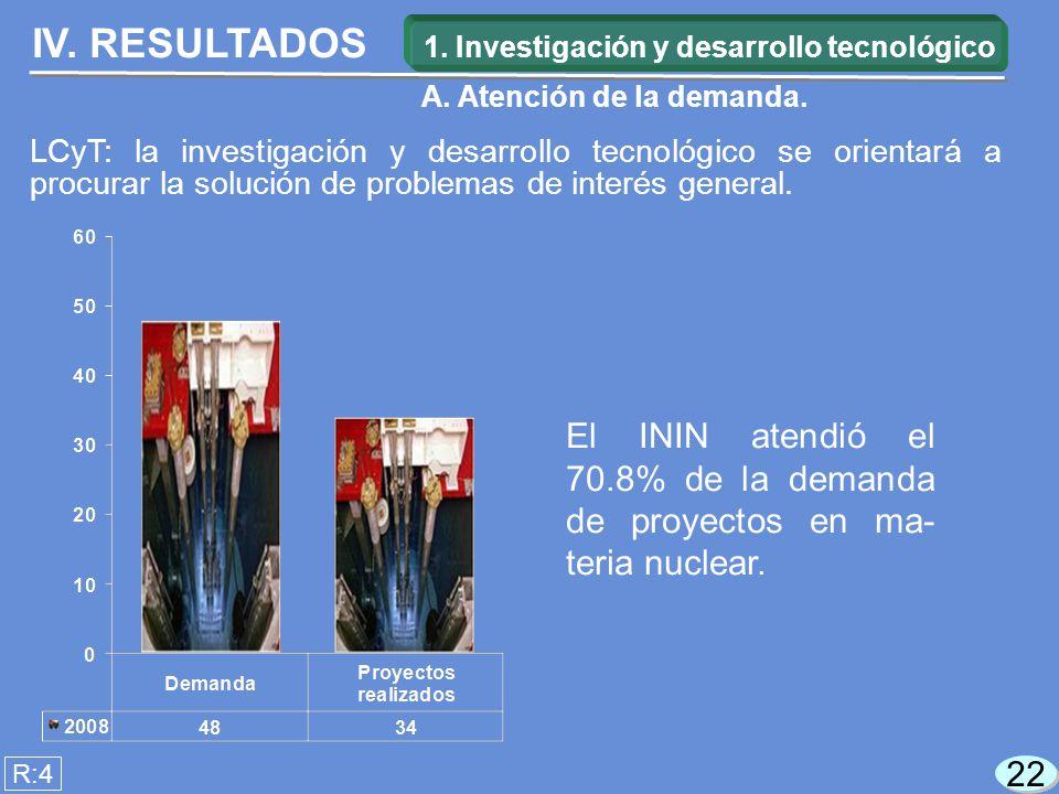 22 LCyT: la investigación y desarrollo tecnológico se orientará a procurar la solución de problemas de interés general.