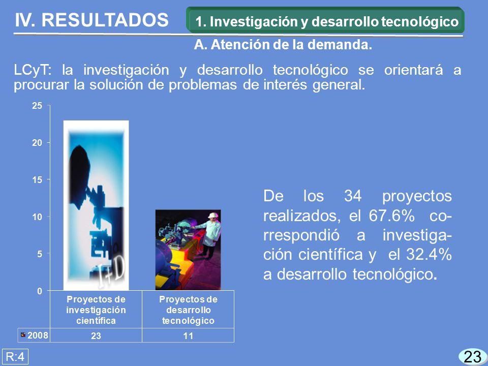23 LCyT: la investigación y desarrollo tecnológico se orientará a procurar la solución de problemas de interés general.