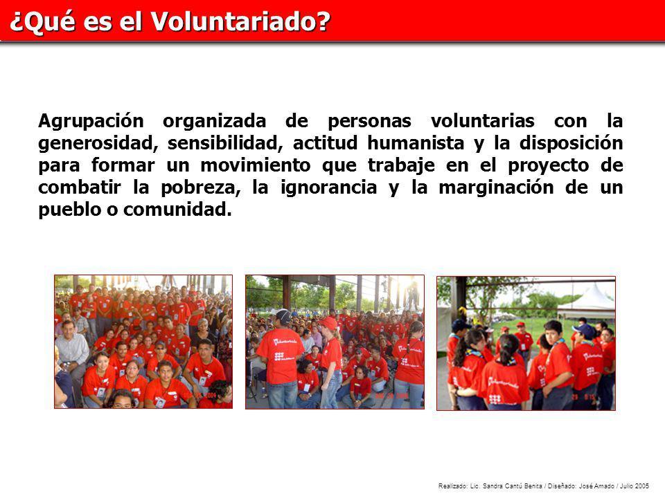 ¿Qué es el Voluntariado.