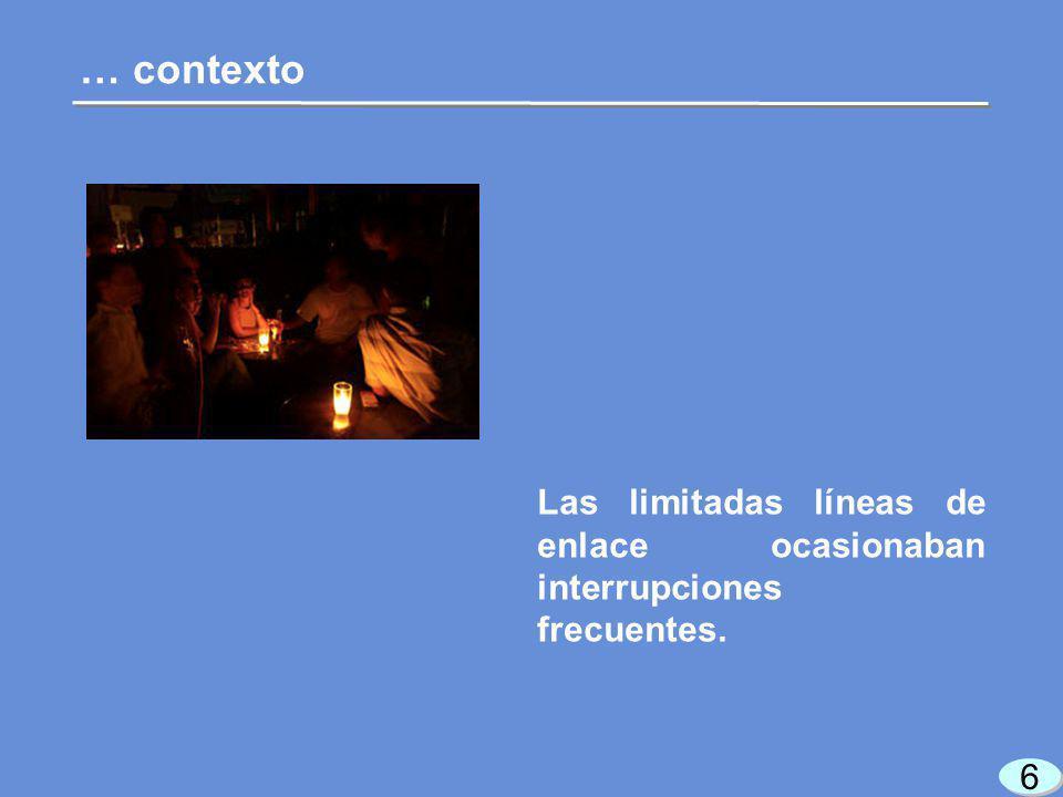 17 Presupuesto de Egresos de la Federación 2007 Luz y Fuerza del Centro Atender las necesidades de electricidad en la zona central.