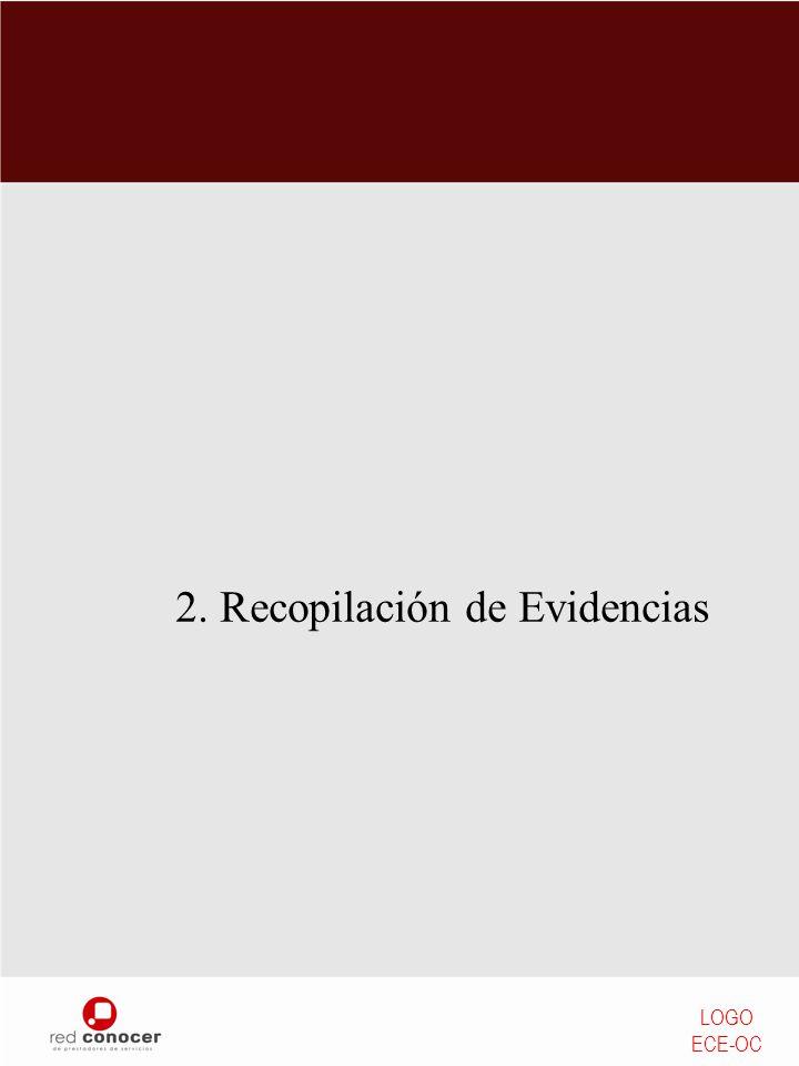 2. Recopilación de Evidencias LOGO ECE-OC