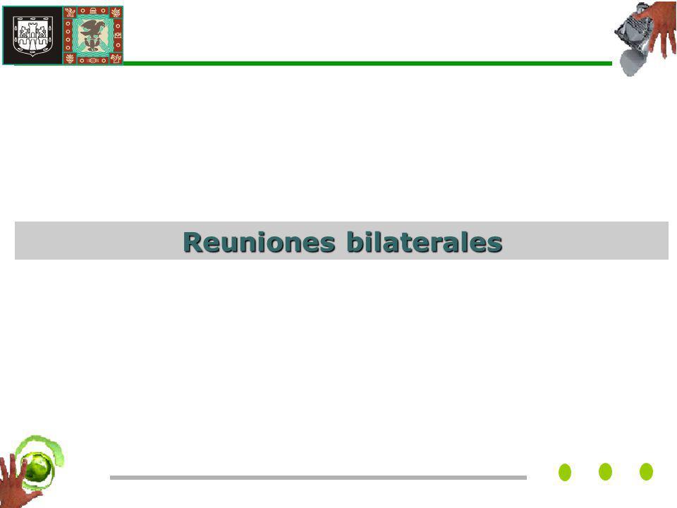 Reuniones bilaterales