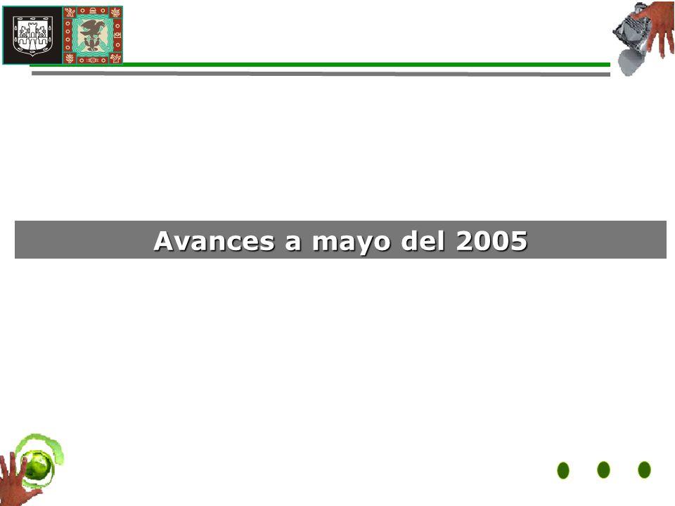 Avances a mayo del 2005