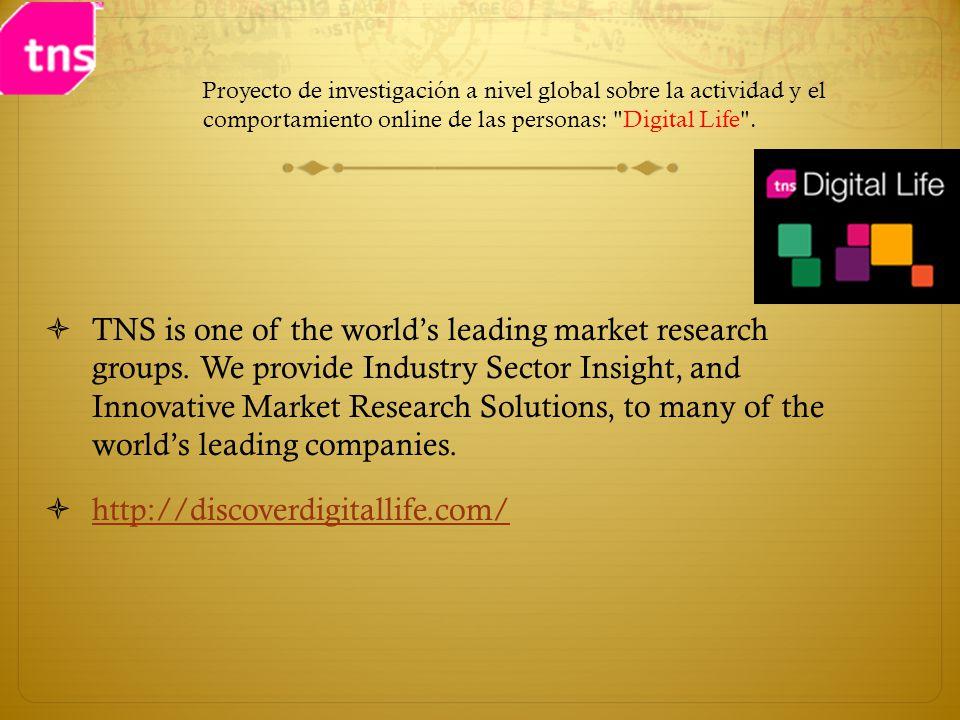 Proyecto de investigación a nivel global sobre la actividad y el comportamiento online de las personas: