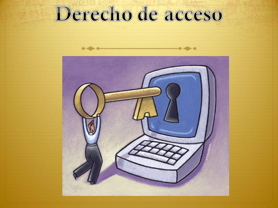 Concepto El derecho a la información, se entiende como la garantía fundamental que toda persona posee para - atraerse información, - informar y - a ser informada.