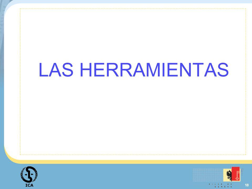 18 LAS HERRAMIENTAS