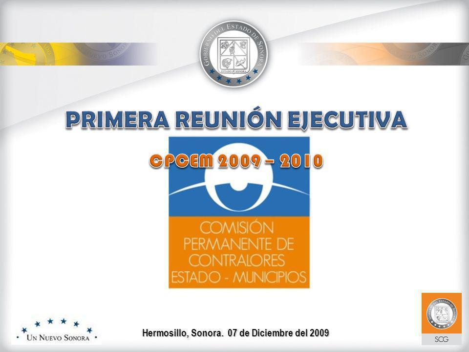 Hermosillo, Sonora. 07 de Diciembre del 2009