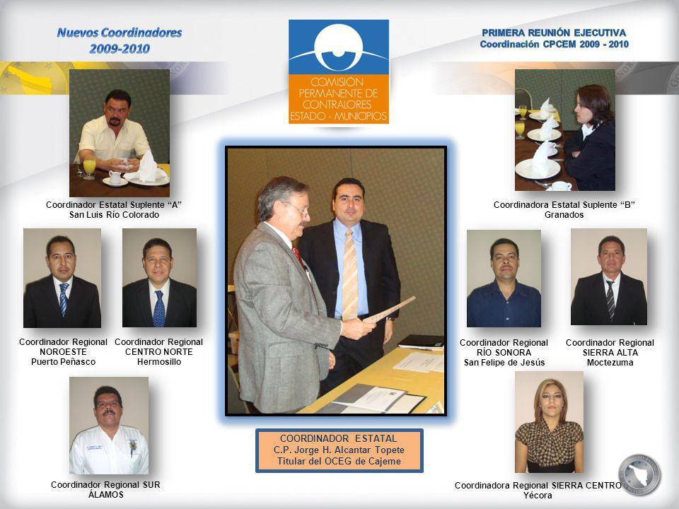COORDINADOR ESTATAL C.P. Jorge H.