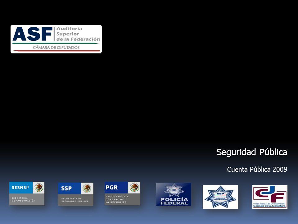 Seguridad Pública Cuenta Pública 2009