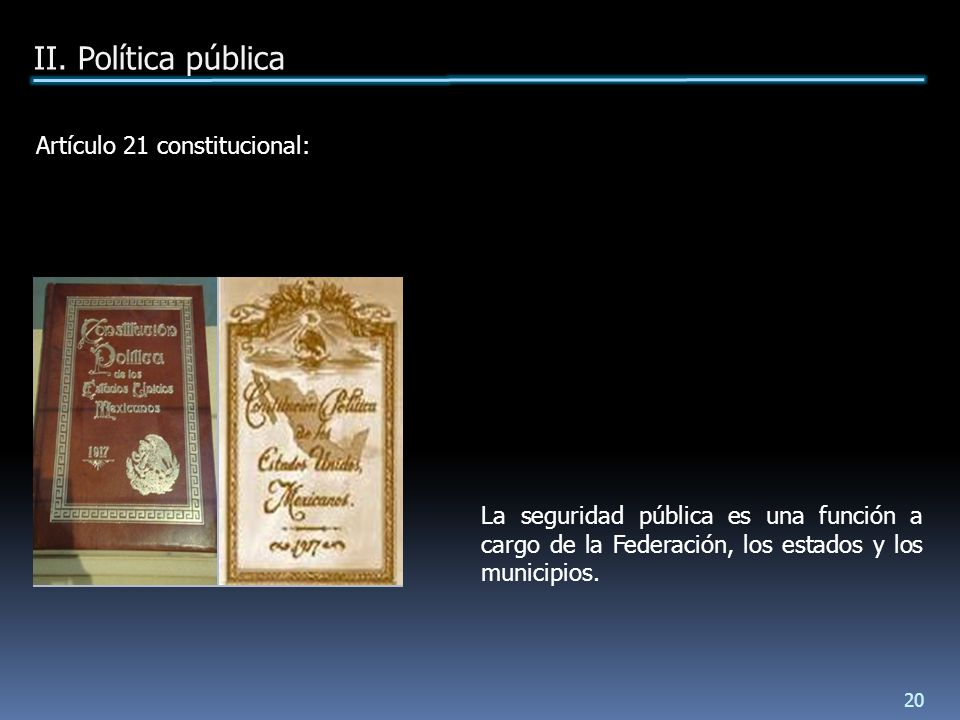 La seguridad pública es una función a cargo de la Federación, los estados y los municipios.