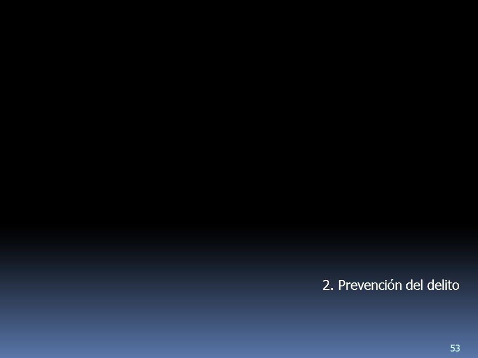 2. Prevención del delito 53