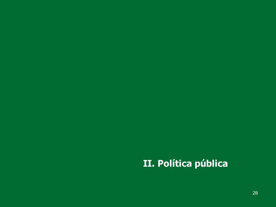 28 II. Política pública