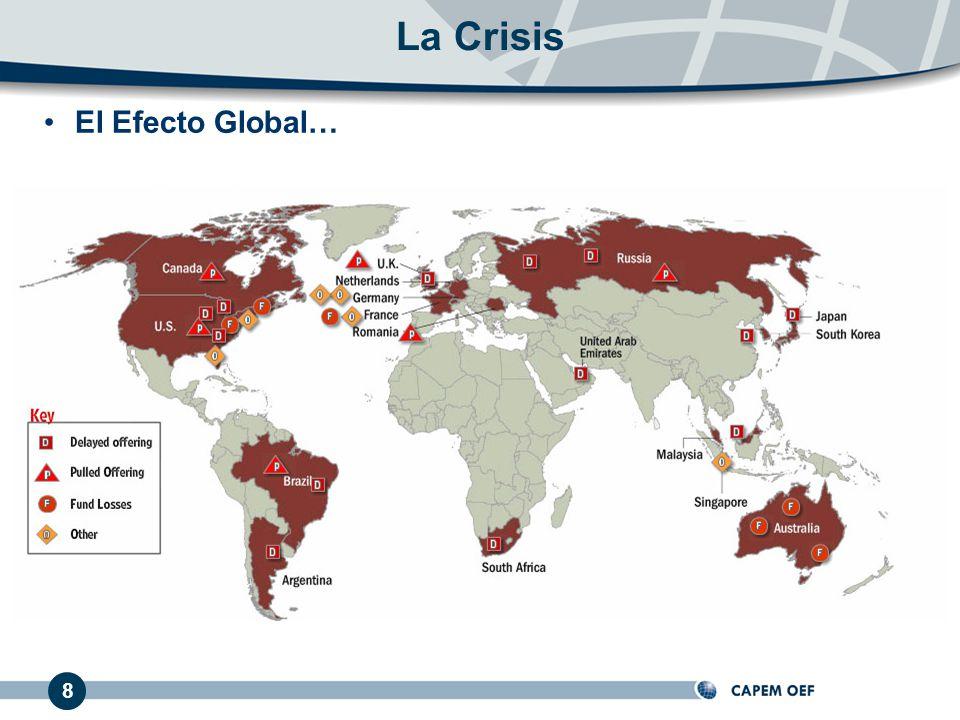 El Efecto Global… 8 La Crisis