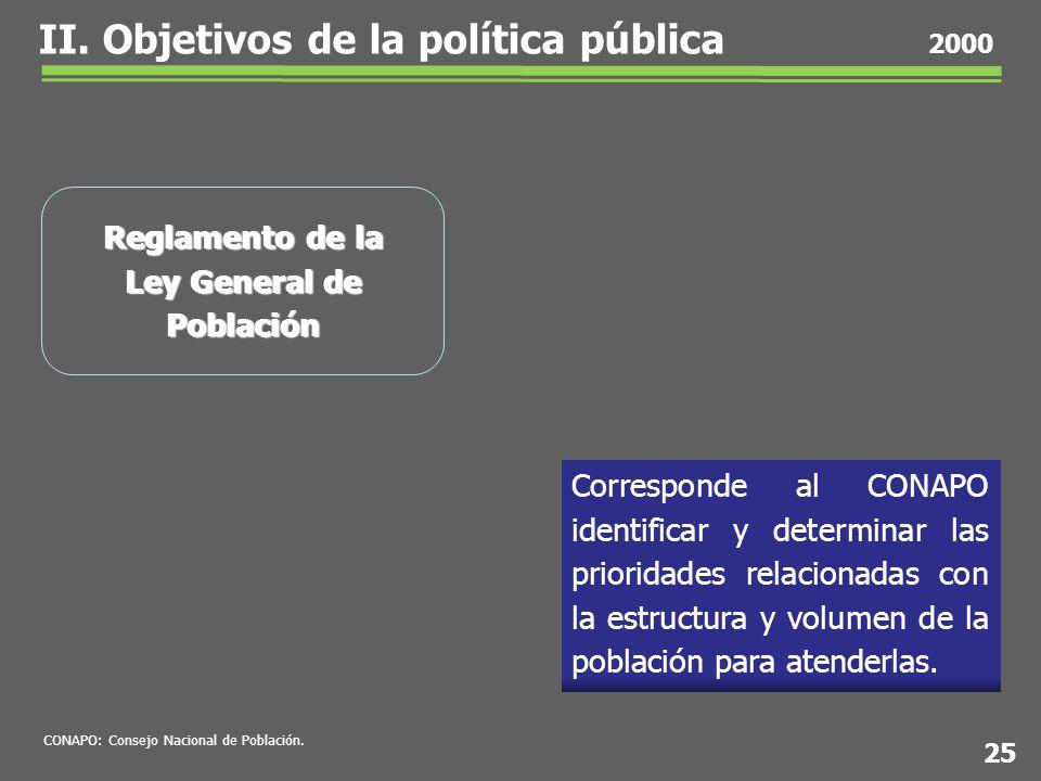 Corresponde al CONAPO identificar y determinar las prioridades relacionadas con la estructura y volumen de la población para atenderlas.