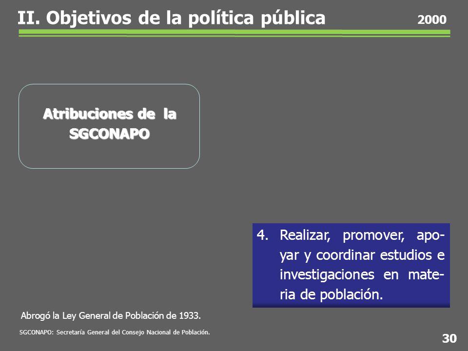 Abrogó la Ley General de Población de 1933. 4.