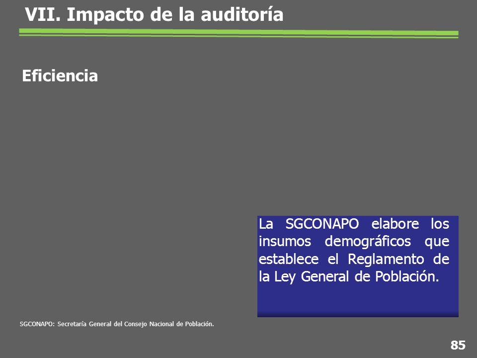 La SGCONAPO elabore los insumos demográficos que establece el Reglamento de la Ley General de Población.