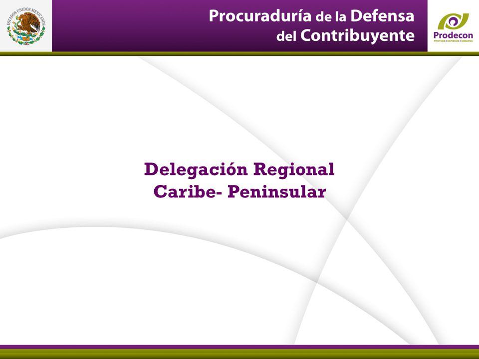 21 Delegación Regional Caribe- Peninsular