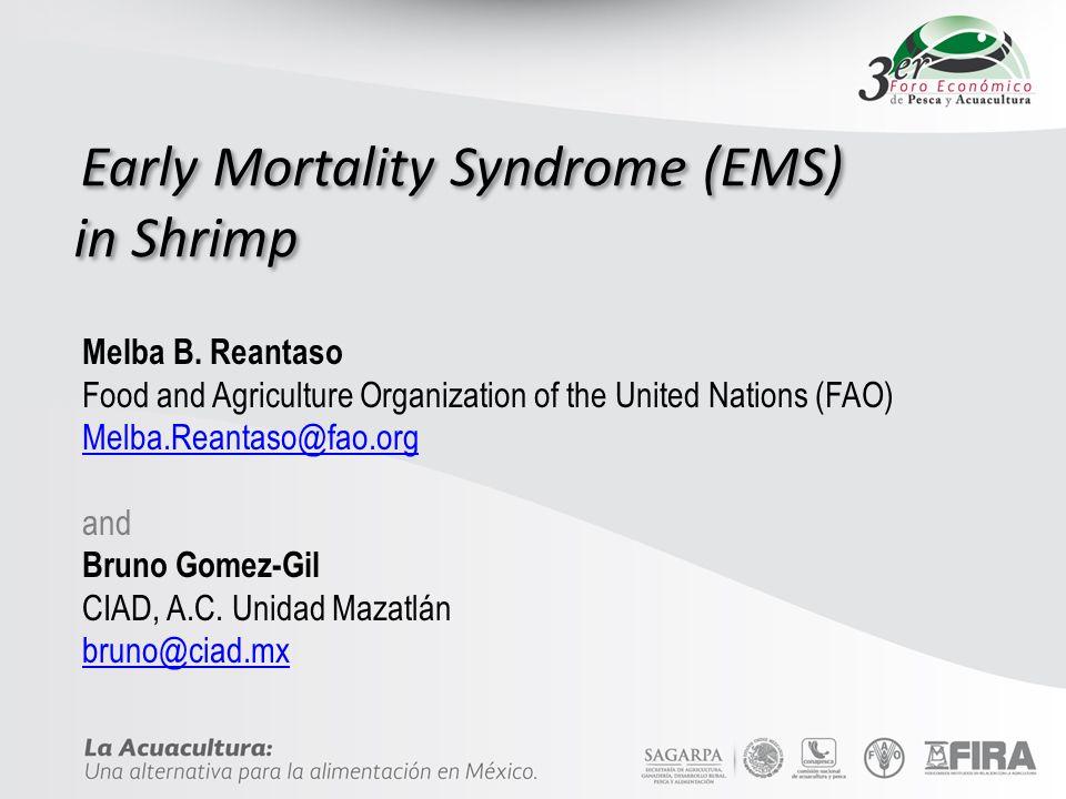 GRACIAS EMS/APHND Centro de Investigación en Acuicultura y Desarrollo, A.C.