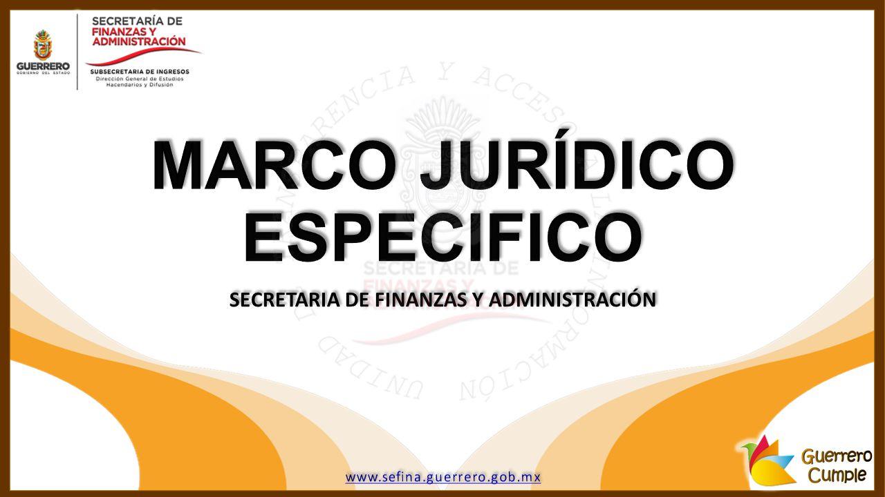 SECRETARIA DE FINANZAS Y ADMINISTRACIÓN