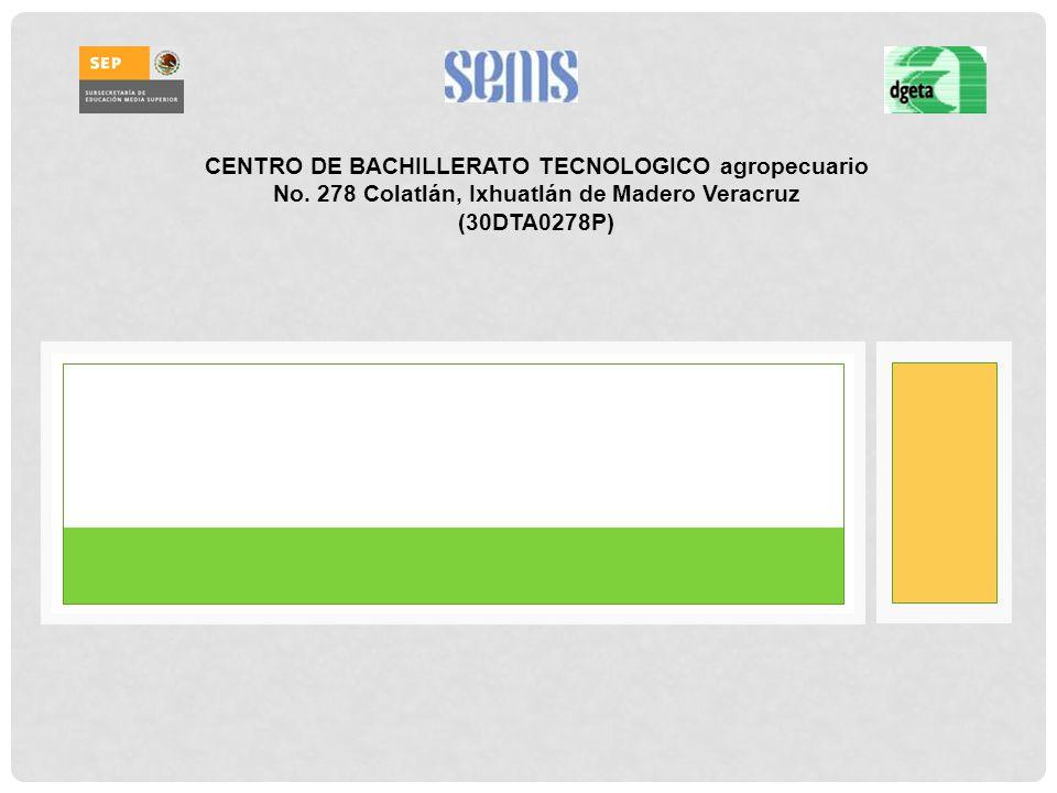 CENTRO DE BACHILLERATO TECNOLOGICO agropecuario No.