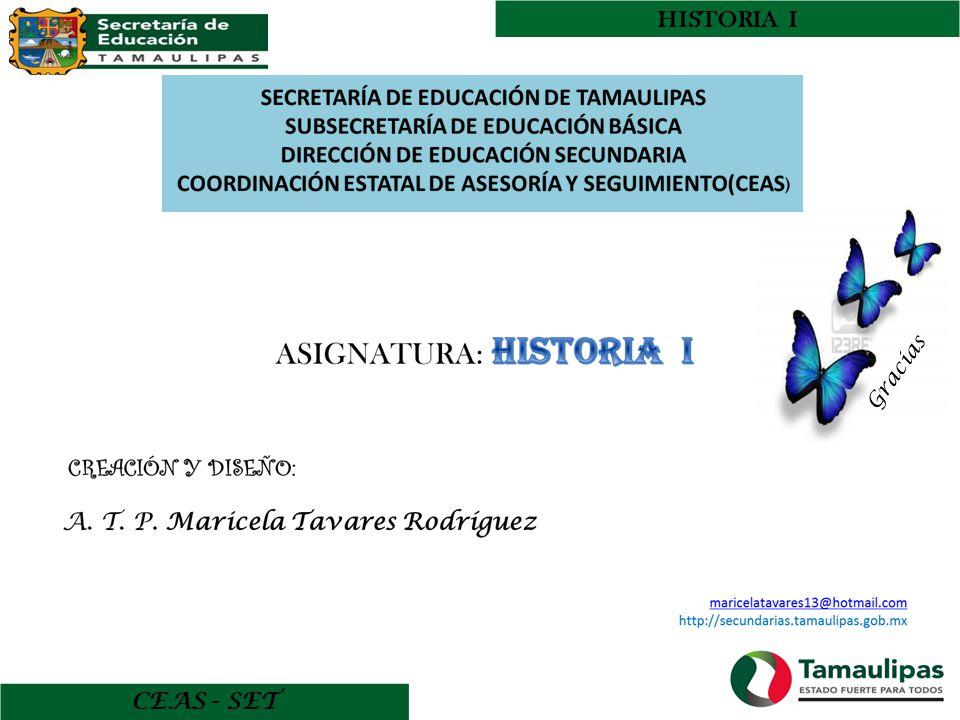 HISTORIA I CEAS - SET Gracias