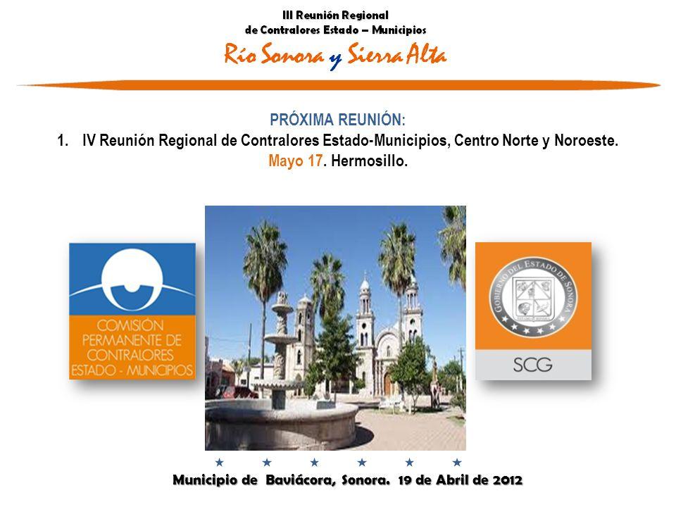 Municipio de Baviácora, Sonora. 19 de Abril de 2012 Municipio de Baviácora, Sonora.