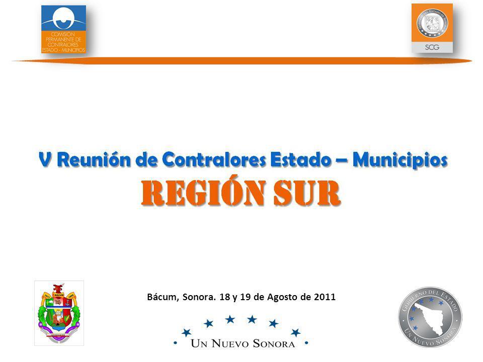 Bácum, Sonora. 18 y 19 de Agosto de 2011