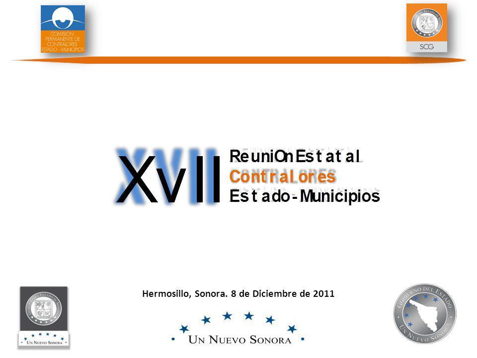 Hermosillo, Sonora. 8 de Diciembre de 2011