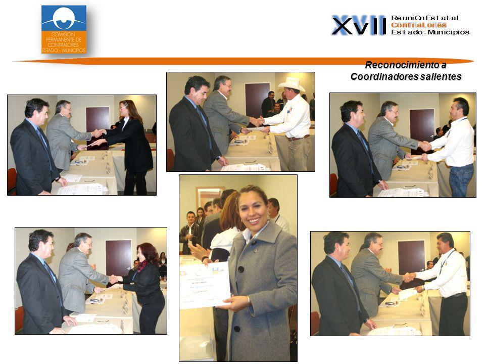 Proceso de elección de Coordinadores 2011-2012 De acuerdo a los Lineamientos Generales de la Comisión Permanente, e instalada la Asamblea Plenaria, el día jueves 8 se llevó a cabo el proceso de elección para constituir la nueva Coordinación Estatal y sus respectivos Coordinadores Regionales,.
