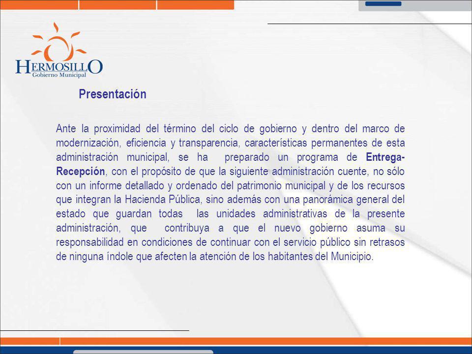 Bases y programa cronológico VIGÉSIMA PRIMERA - Los Titulares entrantes verificarán el contenido del Acta en el plazo señalado en la Ley de Gobierno y Administración Municipal.