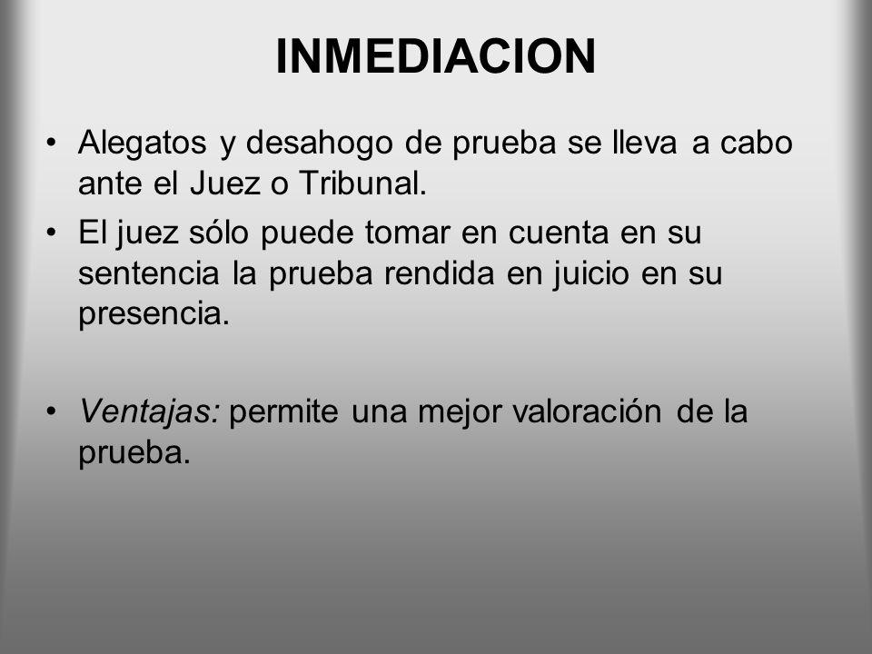 DISPOSICIONES PARTICULARES SOBRE LA PRUEBA - DOCUMENTAL Reproducción de las declaraciones del imputado ante el Ministerio Público.