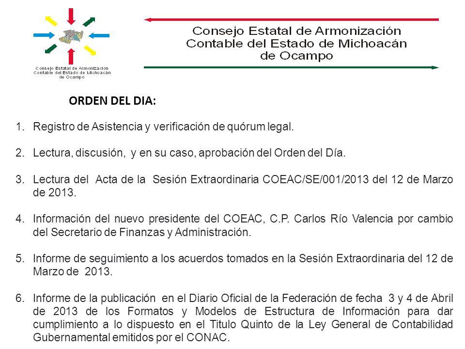 7.Informe de la integración de los Grupos y Comisiones.