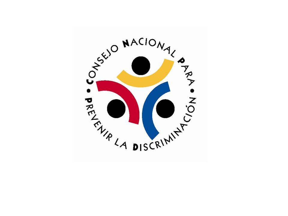 CONAPRED Organismo descentralizado federal Creado en 2003 Ley Federal para Prevenir y Eliminar la Discriminación Domicilio en la ciudad de México, D.F.