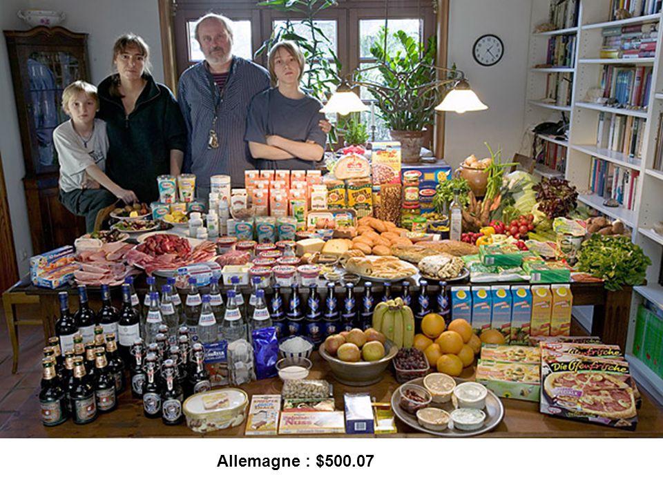 Allemagne : $500.07