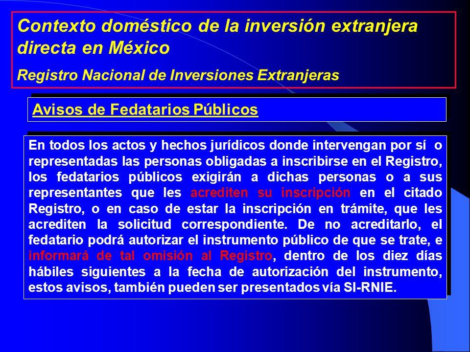 1a. Personas Extranjeras 2a. Sociedades mexicanas 3a.