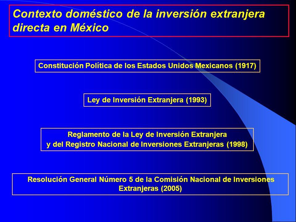 Acuerdos para la Promoción y Protección Recíproca de las Inversiones (APPRIs).