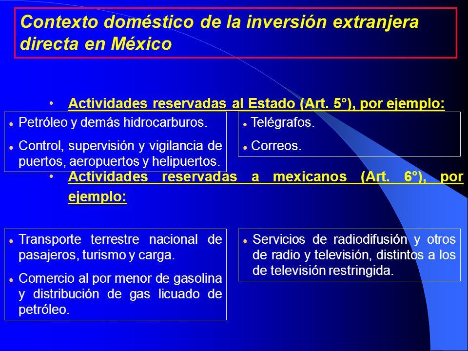 1a.Personas Extranjeras 2a. Sociedades mexicanas 3a.
