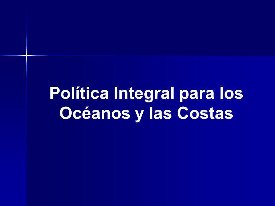 Política Integral para los Océanos y las Costas