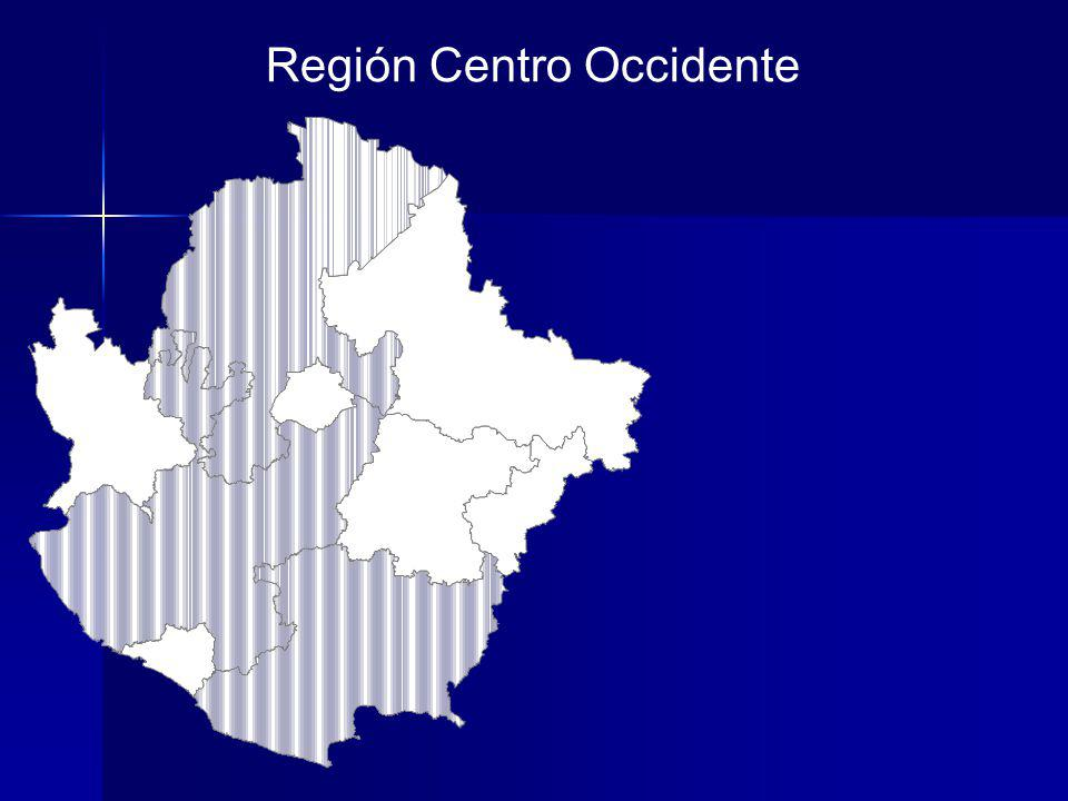 Región Centro Occidente