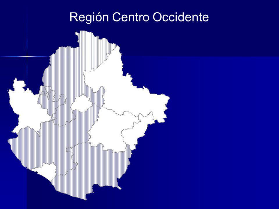 Región Centro Occidente