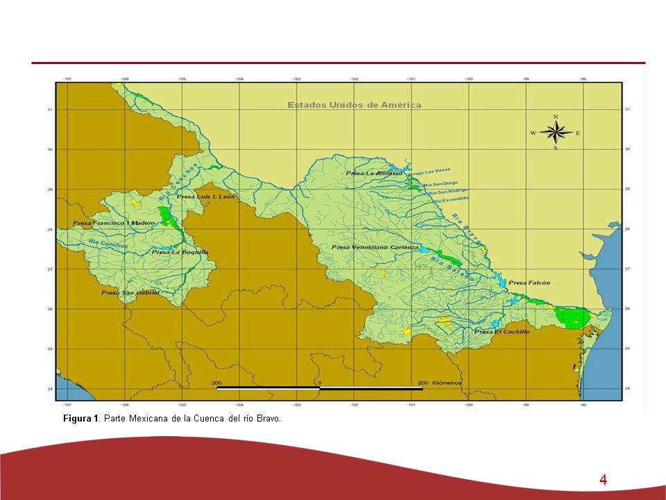 5 Objetivos General: Estudiar el efecto del Cambio Climático en los escurrimientos de los seis afluentes mexicanos del río Bravo, en el período 1900-2004.