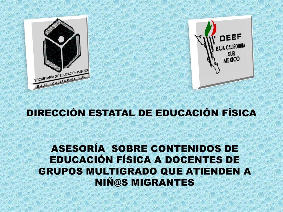 ASESORAR A LOS DOCENTES DE GRUPOS MULTIGRADO CON NIÑ@S MIGRANTES SOBRE LOS ELEMENTOS TÉCNICO- PEDAGÓGICOS PARA FAVORECER LA APLICACIÓN DE LAS ACTIVIDADES FÍSICAS, DEPORTIVAS Y RECREATIVAS DE SUS ALUMN@S