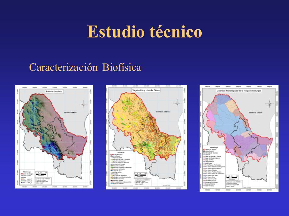 Estudio técnico Caracterización Biofísica