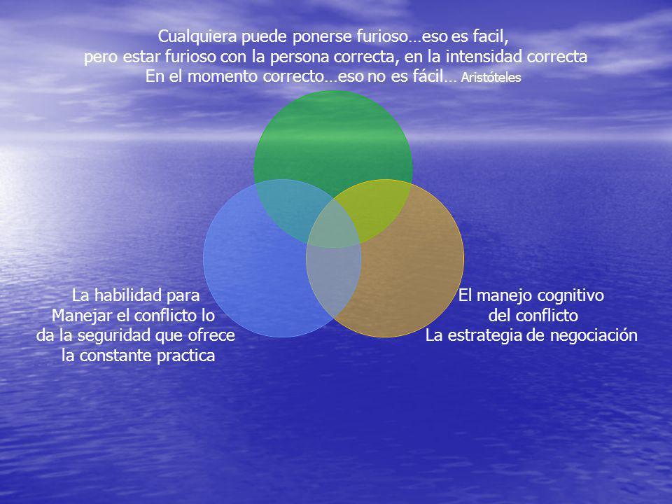 Habilidad para dar un seguimiento a la conversación Identificar la falta de claridad en el conflicto Identificar la falta de claridad en el conflicto Permitir que las partes exploren las fuentes de su ambigüedad, confusión e incertidumbre Permitir que las partes exploren las fuentes de su ambigüedad, confusión e incertidumbre Seguir a los disputantes a medida que conversan, para descubrir en el diálogo las ambigüedades Seguir a los disputantes a medida que conversan, para descubrir en el diálogo las ambigüedades