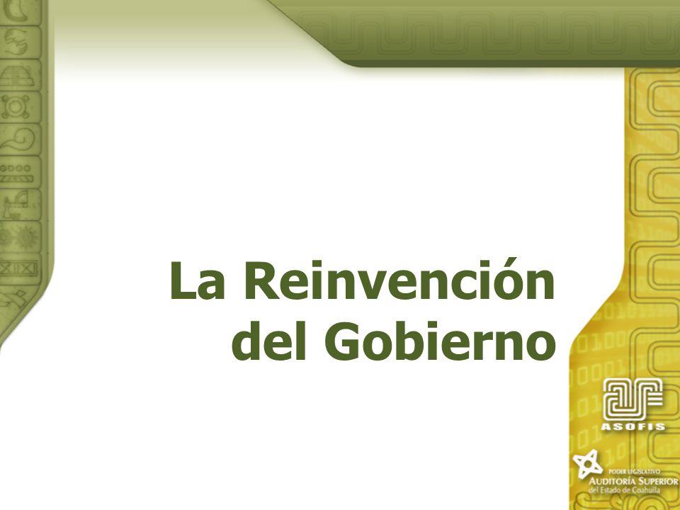 La Reinvención del Gobierno
