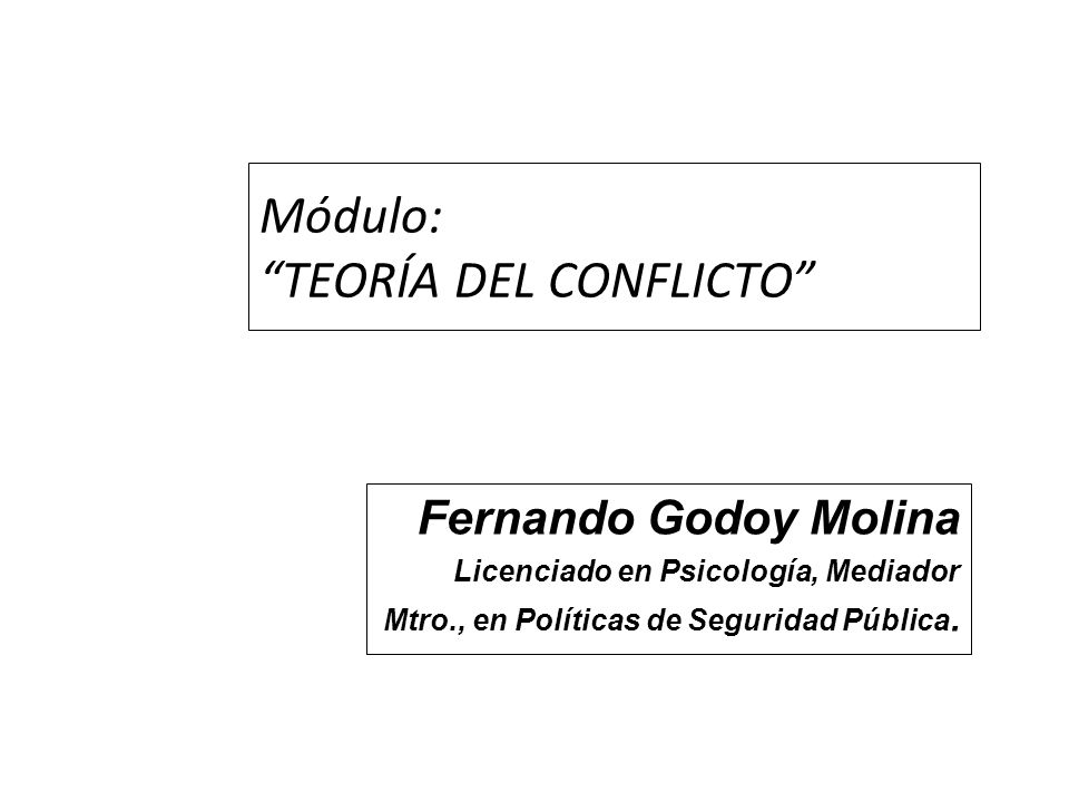 Patrones (paradigmas) de conflictos: PODER: Alguno quiere mandar, dirigir o controlar más a los otros.