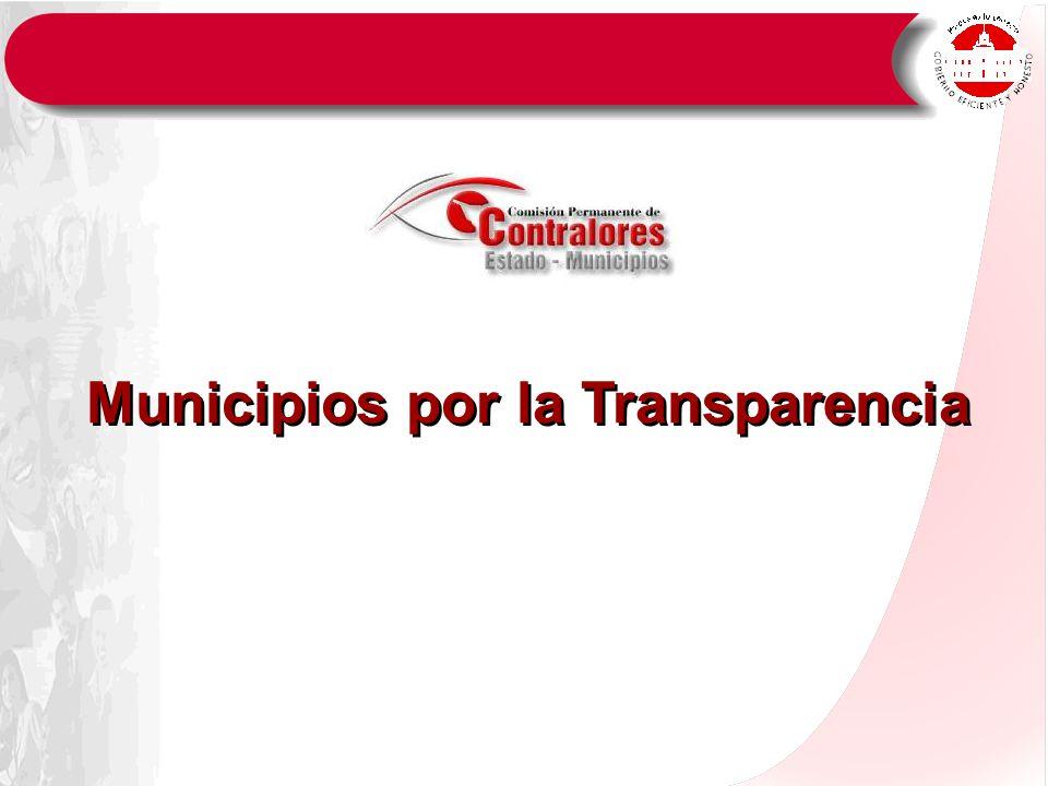 Municipios por la Transparencia